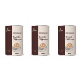 3 Barattoli di bevande Dieta Zero al cappuccino