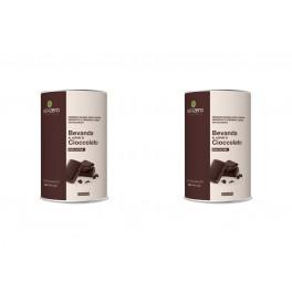 2 Barattoli di bevande Dieta Zero al cacao amaro