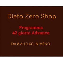 Dieta Zero Programma Advanced 42 giorni