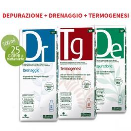 Kit 3 fitoestratti Dieta Zero - Depurazione Drenaggio Termogenesi